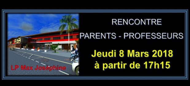 Rencontre Parents / Professeurs