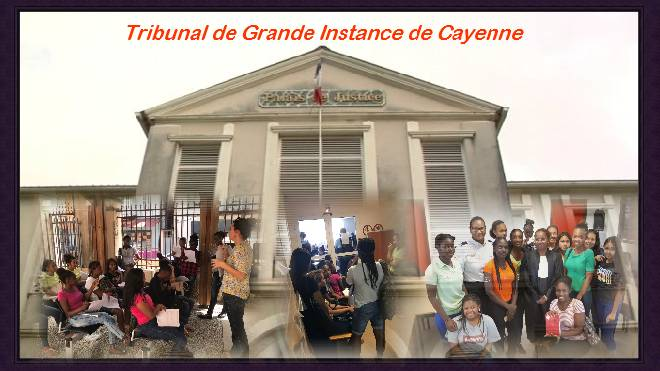 AUDIENCES AU TGI DE CAYENNE
